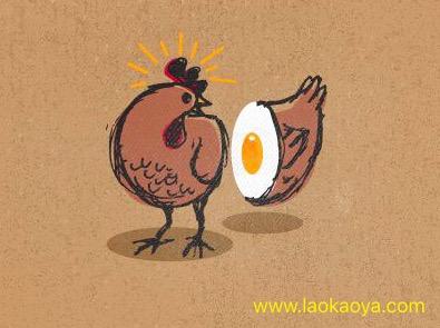 先有鸡还是先有蛋用英文怎么说? 必须知道的地道英文习语表达